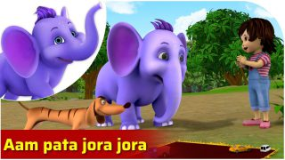 Aam Pata Jora Jora – Bengali Nursery Rhyme for Kids in 4K by Appu Series