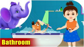 Bathroom – Learning song for Kids in 4K by Appu Series