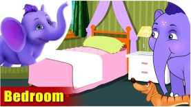 Bedroom – Learning song for Children in 4K by Appu Series