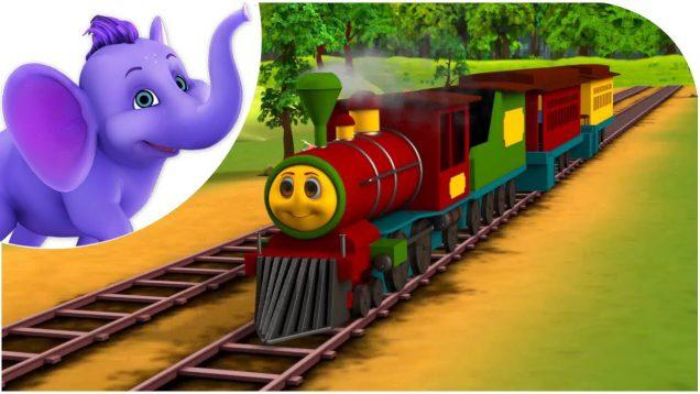 Chuku-chuku-railu-vastundi – Telugu Song for Kids in 4K by Appu Series