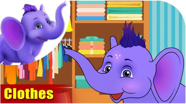Clothes – Learning song for Kids in 4K by Appu Series