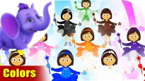 Colors – Learning song for Children in 4K by Appu Series