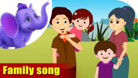 Family Song – Learning song for Children in 4K by Appu Series