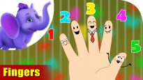 Fingers – Learning song for Children in 4K by Appu Series