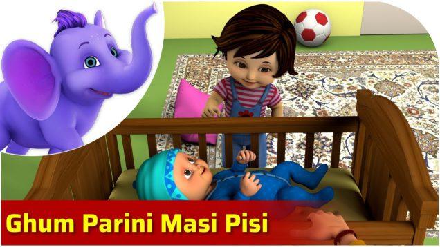 Ghum Parini Masi Pisi – Bengali Nursery Rhyme for Children in 4K by Appu Series
