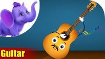 Guitar – Musical Instrument Song | Appu Series | 4K
