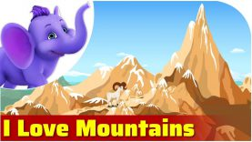 I Love Mountains in Ultra HD (4K)