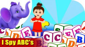 I Spy ABCs – Learning song for Kids in 4K by Appu Series