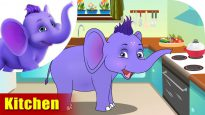 Kitchen – Learning song for Kids in 4K by Appu Series