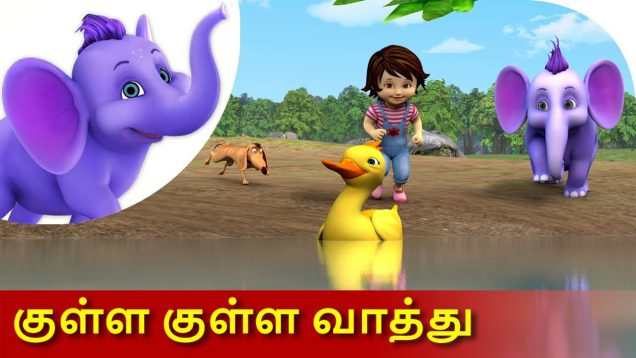 Kulla Kulla Vaathu – Tamil Song for Kids in 4K by Appu Series