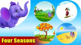 Learn Seasons – Learning song for Kids in 4K by Appu Series