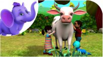 Meri Pyari Gaiya – Hindi Nursery Rhyme for Children in 4K by Appu Series