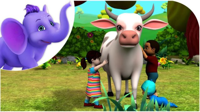 Meri Pyari Gaiya – Hindi Nursery Rhyme for Children in 4K by Appu Series