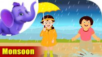 Monsoon – Learning song for Kids in 4K by Appu Series
