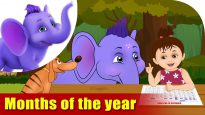 Months of the Year – Learning song for Children in 4K by Appu Series