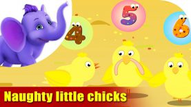 Naughty Little Chickens – Learning song for Kids in 4K by Appu Series