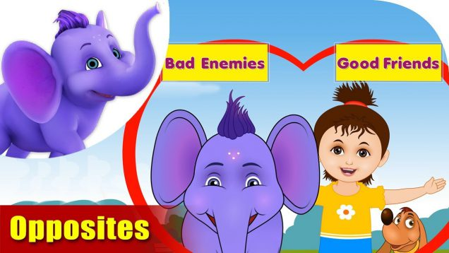 Opposites – Learning song for Children in 4K by Appu Series