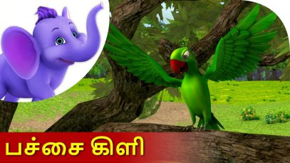 Pachai Kili – Tamil Nursery Rhyme for Kids in 4K by Appu Series