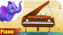 Piano – Musical Instrument Song | Appu Series | 4K