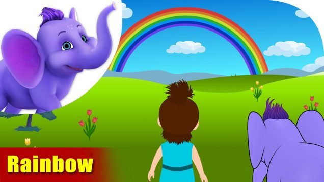 Rainbow – Learning song for Children in 4K by Appu Series