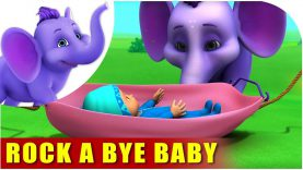 Rock a bye baby – English Song for Kids in 4K by Appu Series