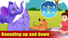 Rounding Up and Rounding Down – Learning song for Children in 4K by Appu Series