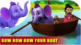 Row Row Row Your Boat – English Nursery Rhyme for Children in 4K by Appu Series