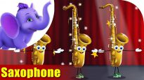 Saxophone – Musical Instrument Song | Appu Series | 4K