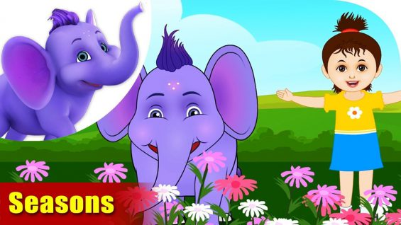 Seasons – Learning song for Kids in 4K by Appu Series