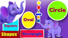 Shapes – Learning song for Kids in 4K by Appu Series