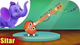 Sitar – Musical Instrument Song | Appu Series | 4K
