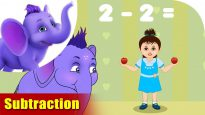 Subtraction – Learning song for Kids in 4K by Appu Series