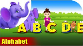 The Alphabet – Learning song for Children in 4K by Appu Series