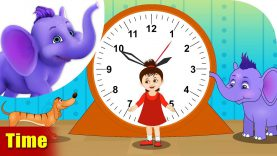 Time – Learning song for Kids in 4K by Appu Series
