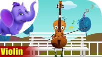 Violin – Musical Instrument Song   Appu Series   4K