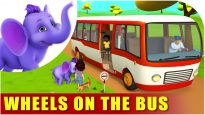Wheels on the Bus – English Nursery Rhyme for Children in 4K by Appu Series