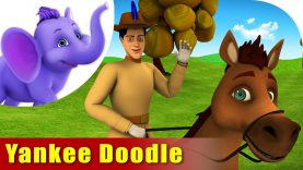 Yankee Doodle came to Town – English Nursery Rhyme for Kids in 4K by Appu Series